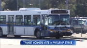 Overwhelming support for transit strike