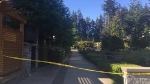 Two alleged sex assault suspects were arrested on the University of British Columbia campus early Saturday morning. April 30, 2016. (CTV News).