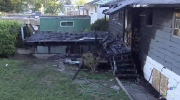 Suspected drug houses torched by suspicious fires