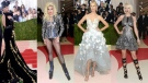 They came as robots and gladiators, light-up princesses and high-haired goddesses shimmering in green, copper and silver.