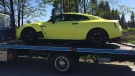 A Nissan GT-R sports car and Ducati motorcycle were caught doing more than 140 kilometres an hour in an 80 kilometre zone in Metro Vancouver. May 2, 2016. (Handout)