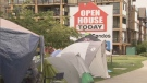 Some of the people have actually been camped out for several weeks to buy in a pre-sale development in Langley, B.C.