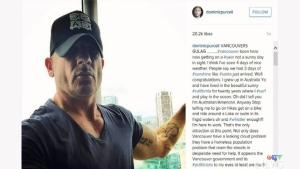 'Prison Break' star calls Vancouver a gulag