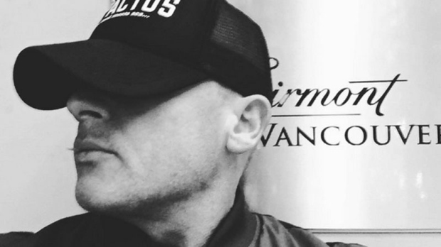 'Prison Break' Actor Dominic Purcell outside the Fairmont Hotel in Vancouver, B.C. (Instagram)