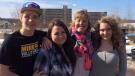 Melonie Matthews-Ryan with her step-children. (Facebook./ Melonie Matthews-Ryan)