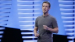 Facebook CEO Mark Zuckerberg speaks during the keynote address at the F8 Facebook Developer Conference in San Francisco on April 12, 2016. (AP / Eric Risberg)