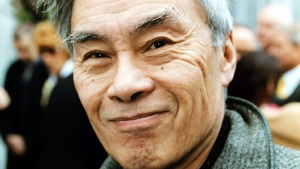 Burt Kwouk in London, on  April 29, 2001. (Michael Crabtree / PA via AP)