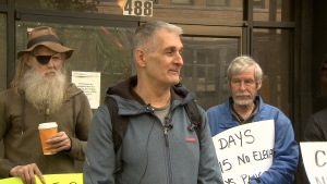 The tenants of rooming house on Vancouver's Downtown Eastside – many of whom use walkers and wheelchairs - say they've been without a working elevator for eight days in a row. May 26, 2016. (CTV News).