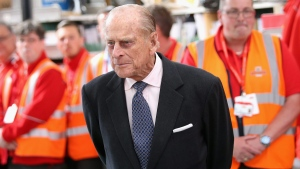 Prince Philip, the Duke of Edinburgh in Windsor, England, on April 20, 2016. (Chris Jackson / Pool Photo via AP)