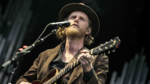 American folk rockers The Lumineers shone through the gloomy weather to serenade concertgoers at Deer Lake Park in Burnaby, B.C.  The group was set to play the Orpheum, but moved venues after overwhelming demand. June 1, 2016. (Photos by Anil Sharma)