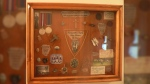 The stolen collection, mounted and framed, has great sentimental value and cannot be replaced. (Surrey RCMP)