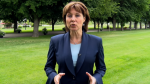 B.C. Premier Christy Clark appeared in a YouTube video promising the province is taking action to ease the Lower Mainland's housing crisis. (Handout). June 25, 2016.
