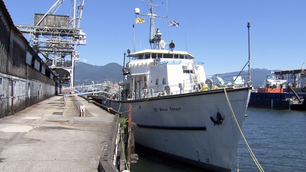 The 152-foot ship was built in 1954 to be a minesweeper for the Royal Canadian Navy. (CTV)