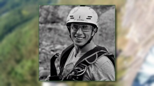 Gary Kremer is being identified on social media as the man who died BASE jumping at the Stawamus Chief on Sunday.