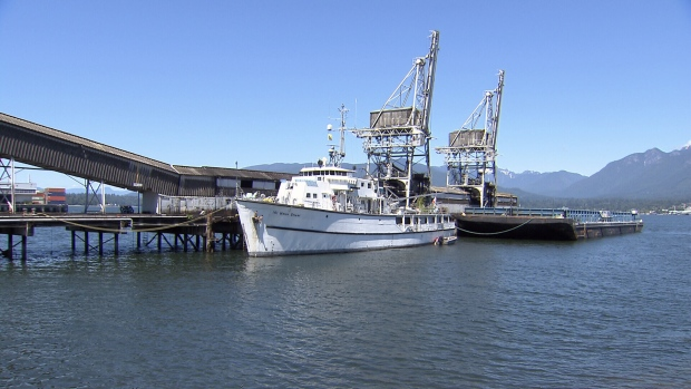 The former HMCS Fortune - a minesweeper built for the Royal Canadian Navy in the early 1950s - is now a 4,000-square-foot home for sale in Vancouver. Owner Mike Fournier takes CTV News on a tour of the boat. (CTV Vancouver)