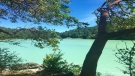 "The district of Sooke says the blue-green water is all natural and not necessarily ""an indicator of water quality concerns."" (Kristina Wiggins)"