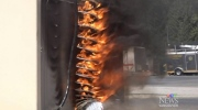 Dryer fire demo: 'Unseen hazard' in your home