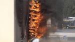 Dryer fire demo: 'Unseen hazard' in your home