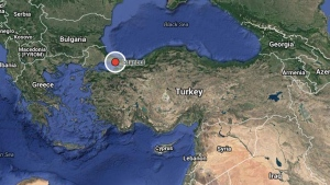 Istanbul, Turkey is indicated on this map. (Google)