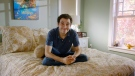 "This image released by The Orchard shows Owen Suskind in a scene from ""Life Animated."" (The Orchard via AP)"