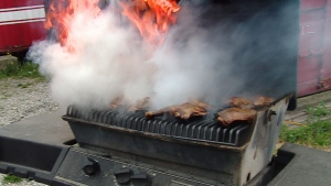 Dirty grills, old tanks and worn out hoses are all potential hazards. (CTV)