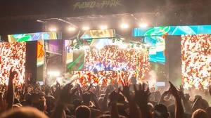 Thousands of people were expected to attend the two-day electronic music festival FVDED in the Park, held July 2 to 3 at Surrey's Holland Park. (Kenny Tai).