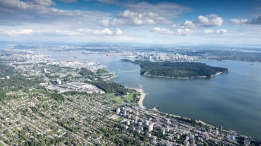 Photos captured by CTV Vancouver&#39;s Pete Cline shine a spotlight on some of the region&#39;s most stunning spots. <br><br> Chopper 9 flew high over Metro Vancouver and the North Shore mountains on July 12, 2016. (Pete Cline / CTV Vancouver)