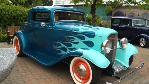 Some 1,110 vintage cars and their owners from all over the world arrived in downtown Victoria for Deuce Days. Chock full of automobile eye candy, the festival runs until Sunday. July 21, 2016. (CTV Vancouver Island)