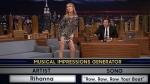 Celine Dion's musical impressions