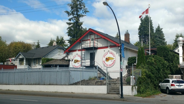 A Pokémon Go location in Coquitlam is drawing a lot of attention to a place that is off limits to the public -- the Hell's Angels clubhouse. (CTV)