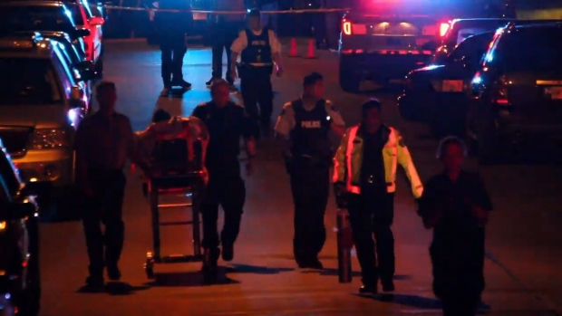 "One man was killed and another was injured in what officials are calling a ""targeted attack"" in Surrey Saturday night. (CTV)"