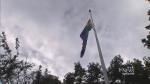 Flags raised for start of Vancouver Pride Week