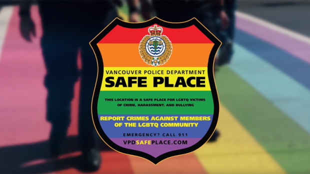 Businesses with a Safe Place decal agree to shelter victims of crime and harassment until police arrive. (Handout)