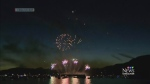 Team Australia dazzles with fireworks show