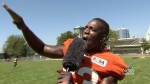 BC Lions' birthday wishes for Marke Driesschen