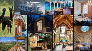 Whether you&#39;re tired of traditional hotels or trying to save some money on vacation, sites like Airbnb offer up a bevy of alternatives for travellers. <br><br>
