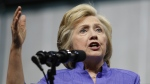Democratic presidential candidate Hillary Clinton speaks in Scranton, Pa. on Aug. 15, 2016. (AP / Carolyn Kaster)