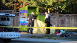 Mounties are investigating after a man was found dead in a clothing donation bin in Surrey. Aug. 23, 2016. (CTV)