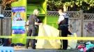 Man found dead inside charity donation bin