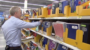 Consumer Reporter Ross McLaughlin took a trip to Bellingham to see if it was worth it to cross the border for back-to-school shopping. (CTV)