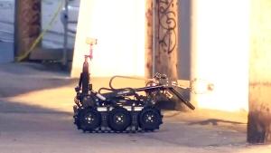 Explosives call still under investigation
