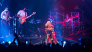 """Singer-songwriter Gwen Stefani brings her This is What the Truth Feels Like tour to Rogers Arena, with a special appearance by her """"Let Me Blow Ya Mind"""" collaborator Eve. Aug. 25, 2016. (Kenny Tai/CTV)"""