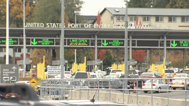 A Surrey, B.C. man has been barred from entering the U.S. after confessing to border officers he had smoked marijuana recreationally – something that is legal in Washington State. (CTV News). Aug. 27, 2016.