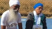 Senior runs one metre for every year of life