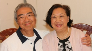 Matthew and Linda Ma are shown in a family photo. (Melissa Ma)