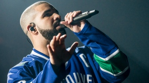 Drake was 'Too Good' to Vancouver fans Saturday night, playing for more than 2.5 hours with Future on their Summer Sixteen tour. The Canadian rapper won the crowd over by sporting a Canucks jersey for the first of two sold-out shows at Rogers Arena. (Anil Sharma Photographer).