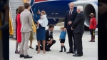 CTVNews.ca: PM tries to high-five Prince George