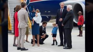 CTVNews.ca: PM tries to high-five Prince George