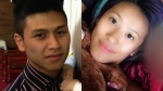 Vanvy Ba-Cao and Samantha Le are seen in photos posted on GoFundMe pages set up in their names.
