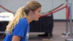 Volleyball players prepare for Royal visit